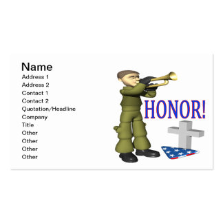 Honor Double-Sided Standard Business Cards (Pack Of 100)
