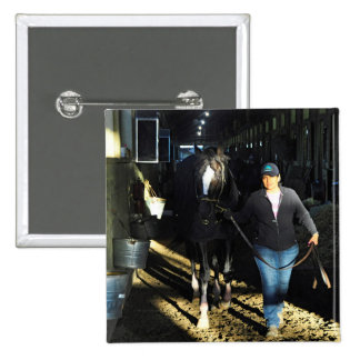 Honor Code at Belmont Park 2 Inch Square Button