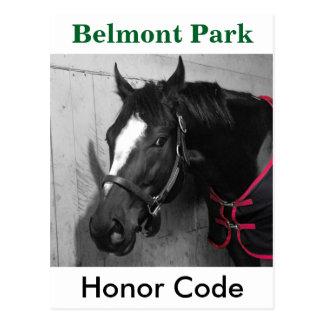 Honor Code Postcard