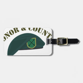 Honor & Country Bag Tag