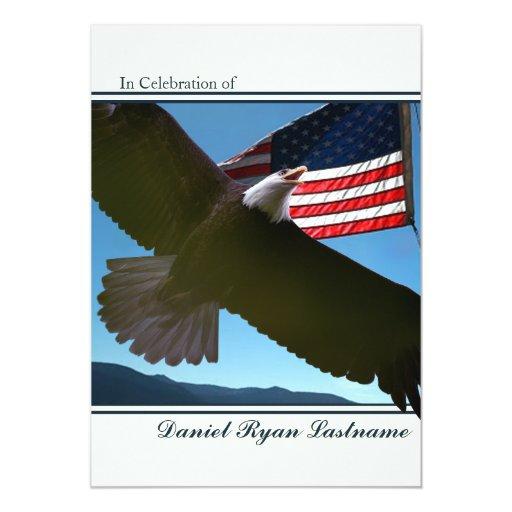 """Honor de Eagle Invitación 5"""" X 7"""""""