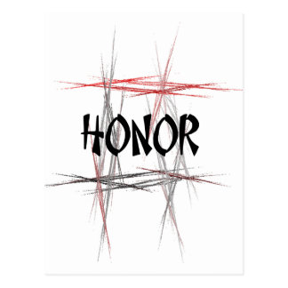 Honor de los artes marciales postales
