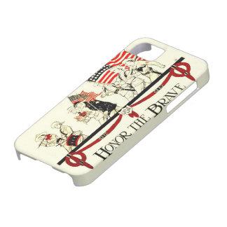 honor del día de veteranos la cubierta valiente iPhone 5 cobertura