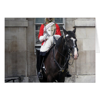 Honor Guard on Horse London Card