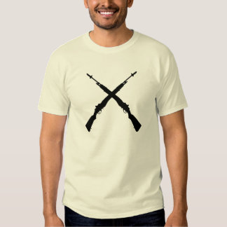 Honor Guard T With Crossed M14s Tshirts