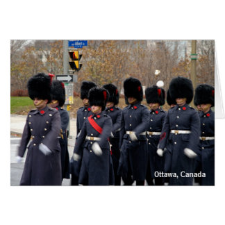 Honor Guards  Greeting Card