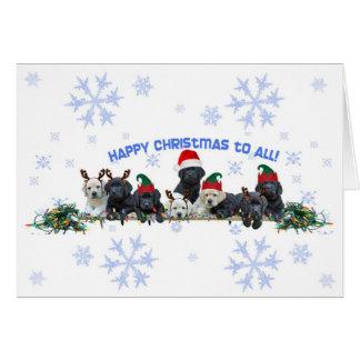 Honor Litter Holiday Elves Card