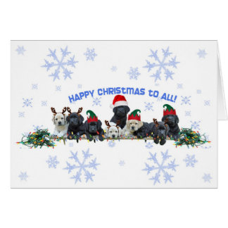 Honor Litter Holiday Elves Greeting Card