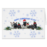 Honor Litter Holiday Elves Greeting Cards