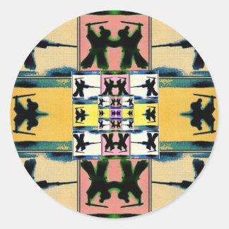 Honor Lives On Samurai by Volente Classic Round Sticker