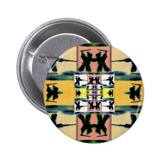 Honor Lives On; Warhol Samurai by Volente Pinback Buttons