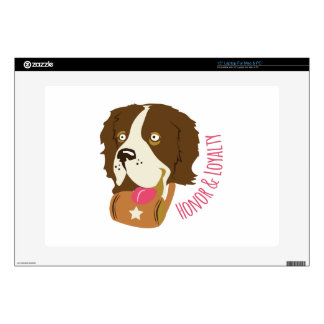 Honor & Loyalty Laptop Decal