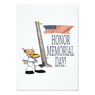 Honor Memorial Day Card