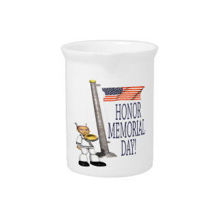 Honor Memorial Day Drink Pitchers