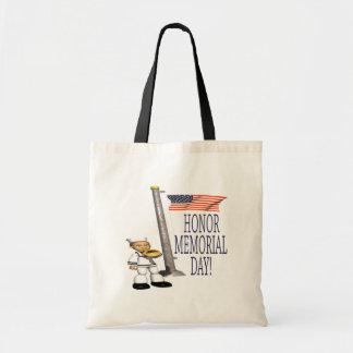 Honor Memorial Day Tote Bag