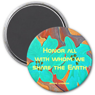 honor message magnet