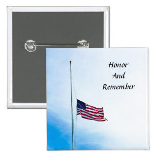 Honor militar del héroe del veterano pin cuadrada 5 cm