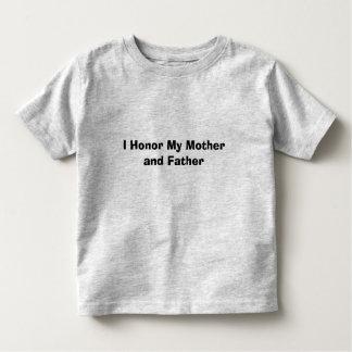 Honor My Parents Toddler T-shirt