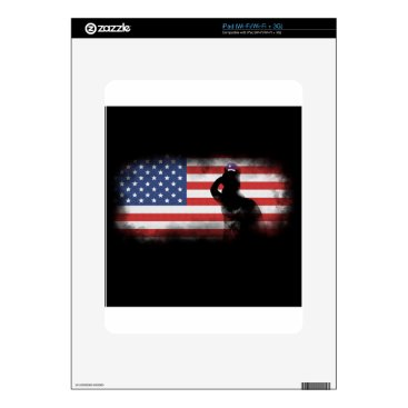 USA Themed Honor Our Heroes On Memorial Day Decals For The iPad