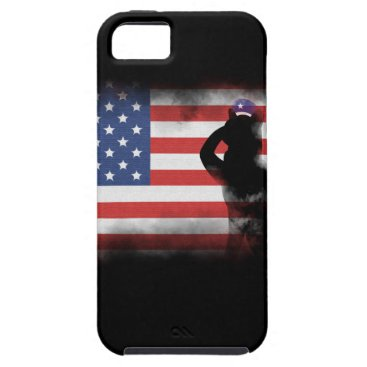 USA Themed Honor Our Heroes On Memorial Day iPhone SE/5/5s Case