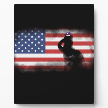 USA Themed Honor Our Heroes On Memorial Day Plaque