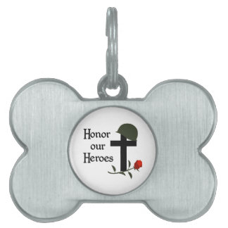 HONOR OUR HEROES PET ID TAGS