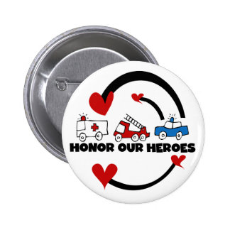 Honor Our Heroes Tshirts and Gifts 2 Inch Round Button