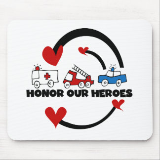 Honor Our Heroes Tshirts and Gifts Mouse Pad