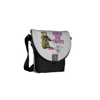 Honor Our Troops.png Messenger Bag