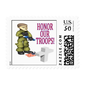 Honor Our Troops Postage