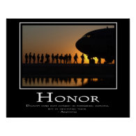 Honor Posters