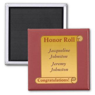 Honor Roll Custom Magnet MM15N2