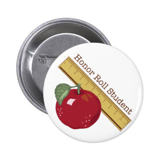Honor Roll Pinback Button