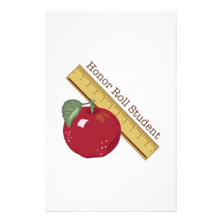 Honor Roll Customized Stationery