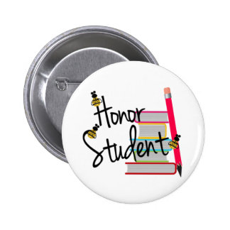Honor Student Button