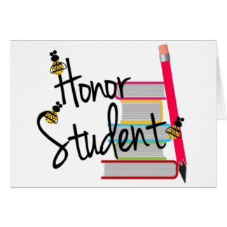 Honor Student Greeting Cards