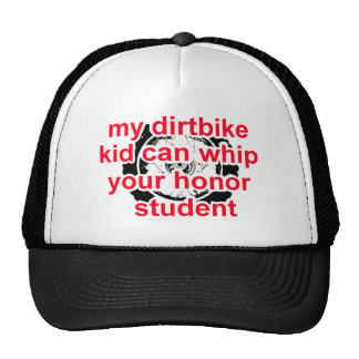 Honor Student Dirt Bike Motocross Cap Hat