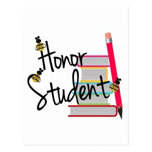 Honor Student Postcard