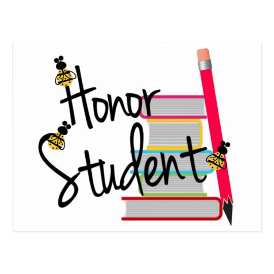 Honor Student Postcard