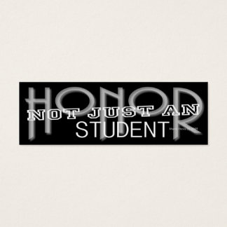 Honor Student - Social Media Personal Card