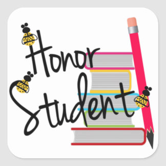 Honor Student Stickers