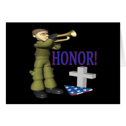 Honor Tarjeta De Felicitación