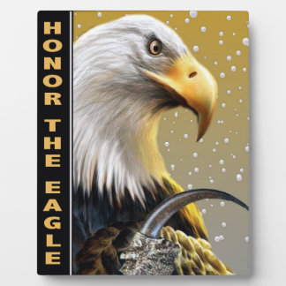 Honor The Eagle Claw gifts and apparel Photo Plaque