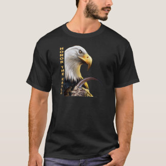 Honor The Eagle Claw gifts and apparel T-Shirt