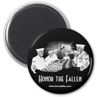 Honor the Fallen 2 Inch Round Magnet