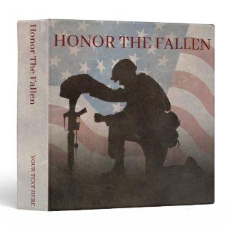 Honor The Fallen 3 Ring Binder