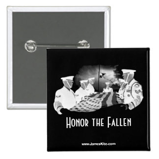 Honor the Fallen Pinback Buttons