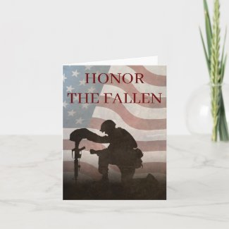 Honor The Fallen Card