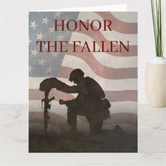 Honor The Fallen Card