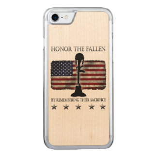 Honor The Fallen Carved iPhone 8/7 Case